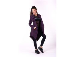 КАРДИГАН NEBBIA TAIL COAT JACKET 681 BURGUNDY