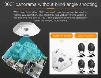 Панорамная WI-FI Smart IP-камера 3D-Panoramic 360° Vstarcam C61S (Photo-09)_gsmohrana.com.ua