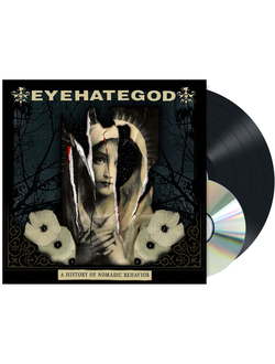 EyeHateGod - A History of Nomadic Behavior LP+CD