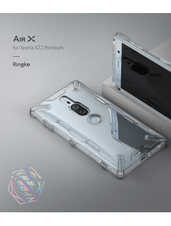 Чехол на SONY XPERIA XZ2 PREMIUM AIR X CLEAR