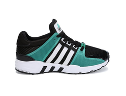 Adidas EQT Running Support 93 Black/Turquoise черно-бирюзовые