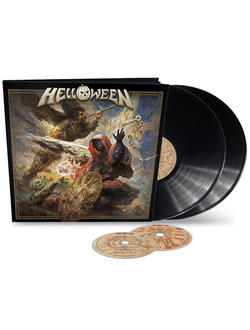 HELLOWEEN - Helloween EARBOOK 2-LP+2-CD