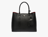 Prada Double Bag Black 35