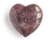 Сердце Лепидолит (47*46*18 мм, 59 г) №16694