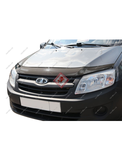 Дефлектор капота Voron Glass для Lada Granta 2011-н.в. Код: MU15