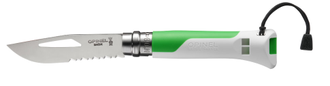 Нож Opinel №08 Outdoor Fluo Green