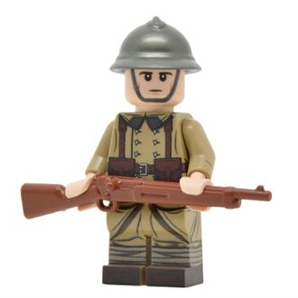 WW2 FRENCH INFANTRY (VERSION 2)