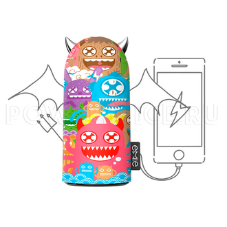 "EMIE Doodle Devil Power Bank S100 5200 mAh ""ZDW"" powerjuice.ru"
