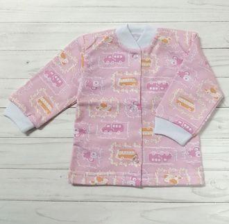 Кофточка ясельная (Артикул 515-1) цвет розовый