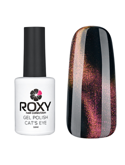 ГЕЛЬ-ЛАК ROXY NAIL COLLECTION 3D CAT'S EYE 200-ФЕСТИВАЛЬ КРАСОК (10 ML)