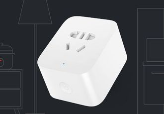 Умная розетка Xiaomi Wi-Fi Mi enhanced Smart Power Plug Socket USB