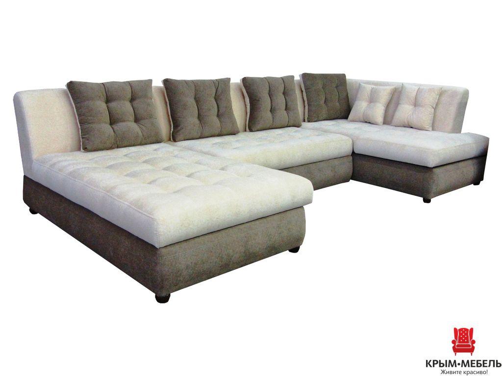 П-образный диван Женева 4