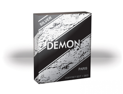 Demon Silver gift set for men