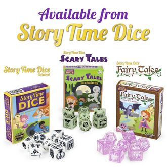 Story Time Scary Tale Fairy Tale Dice - набор