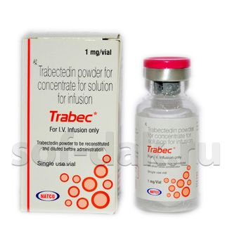 Трабектедин Trabec - Natco Pharma Ltd