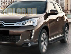 Пороги на Citroёn C4-AirCross (2012-…) Black Start