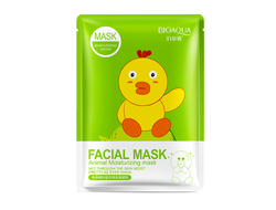 Маска Bioaqua Fasial Animal Mask (Утка), BQY8494