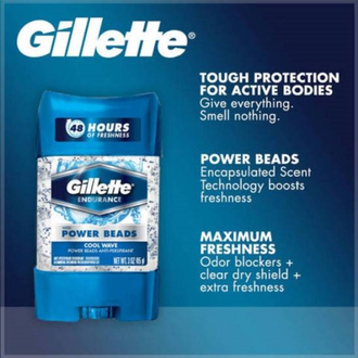 Gillette дезодорант гелевый Gillette Cool Wave Power Beads 75 мл