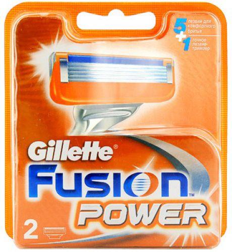 Сменная кассета Gillette Fusion Power, 2 шт