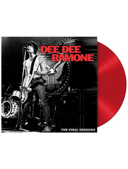 Dee Dee Ramone - The Final Sessions LP Red