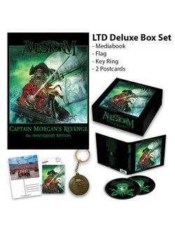 ALESTORM - Captain Morgan's Revenge BOX SET