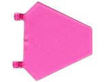 Flag 5 x 6 Hexagonal, Trans-Dark Pink (x1435 / 6288248 / 6331728)