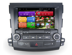 Автомагнитола MegaZvuk T8-8007 Mitsubishi Outlander XL (2007-2012) на Android 7.1.2 Octa-Core (8 ядер) 8""