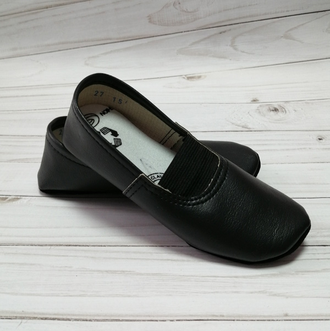 Чешки гимнастические (Артикул 3001-Ч) цвет черный