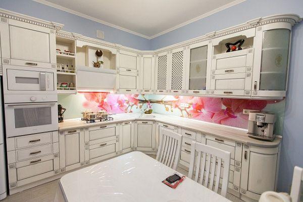 Кухня из массива Флора