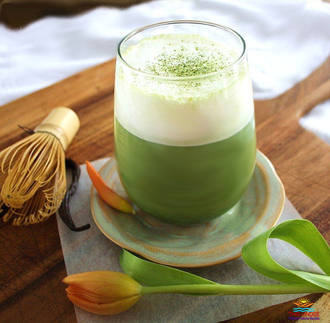 Зеленый чай Matcha Green Tea Latte 160 гр (8 пакетиков)
