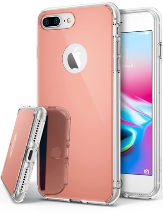 Чехол на Apple iPhone 7+, Ringke серия Mirror, цвет розовое золото (Rose Gold)
