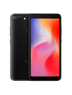 Redmi 6 3/64 gb Черный