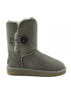 UGG BAILEY BUTTON II GREY ЖЕНСКИЕ