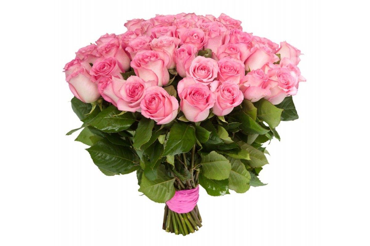 Купить букет розовых роз
