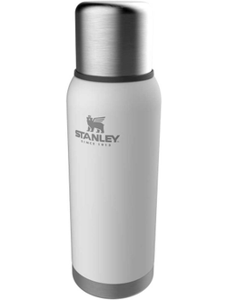 Термос STANLEY Adventure Bottle, 1л, белый