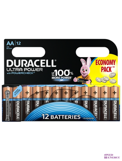 Батарейки Duracell ultra power AA