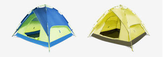 Палатка-тент XIaomi Early morning multi-function automatic tent желтая
