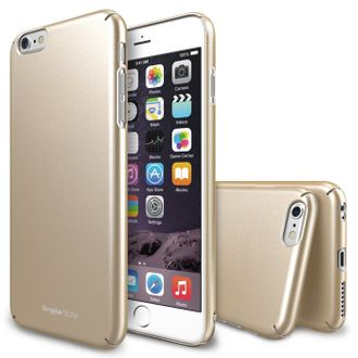 Чехол на Apple iPhone 6 Plus, Ringke серия Slim, цвет золотистый (Royal Gold)