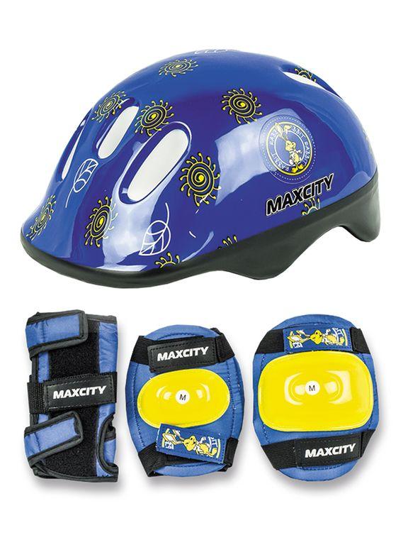 Набор защиты для детей MaxCity Little Rabbit (синий)