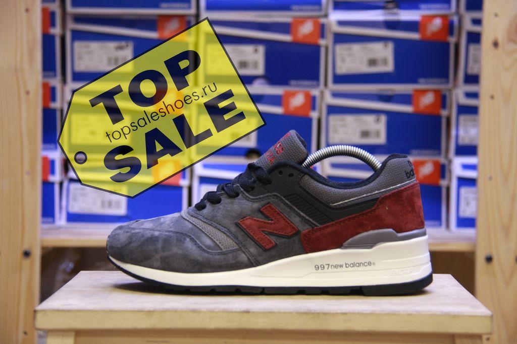 cf4e937dde80 нью баланс New balance 997 мужские кроссовки купить в москве в дисконт  магазине Топсейл