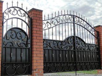 Кованые ворота в Белгороде