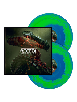 ACCEPT - Too mean to die 2-LP swirl