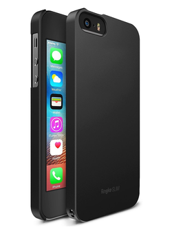 Чехол на Apple iPhone SE, 5S и 5, Ringke серия Slim, цвет черный (Black)