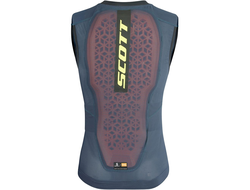 Защита спины Scott AirFlex Light Vest Protector blue/lim