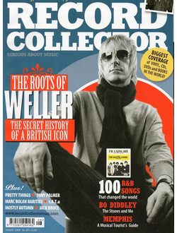 RECORD COLLECTOR Magazine № 352 August 2008 Paul Weller Cover Иностранные журналы, Intpressshop