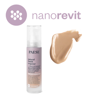 Тональный крем Natural Finish Longwear (05) NANOREVIT Foundation Paese
