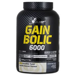 (Olimp) Gain Bolic 6000 - (3500 гр) - (ваниль)