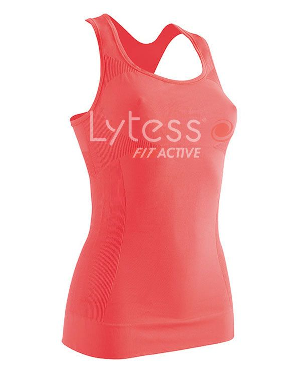 Майка для спорта с эффектом похудения Sport Range Lytess размер S M  Коралловая e3714ad818f