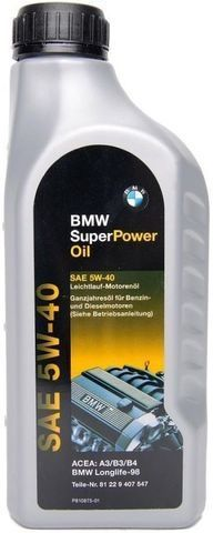 Масло моторное BMW Super Power Oil 5W40 1л