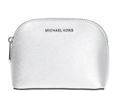 Сумка Michael Kors Cindy Large Dome Crossbody (Серебряная)